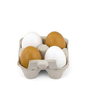 Viga - Jajka drewniane XL w wytłoczce
