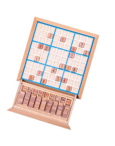 Bigjigs - Gra Sudoku z szufladą
