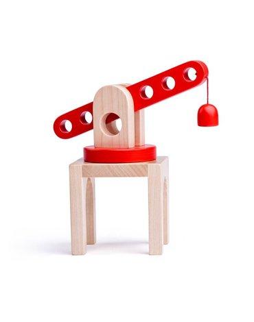 Woody - Dźwig kolejowy z magnesem