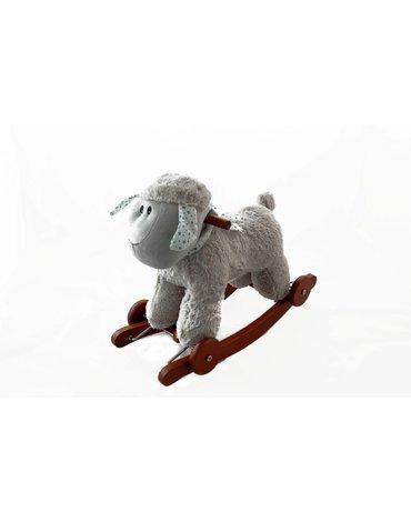 Przytul i kochaj - Owieczka Ania na biegunach z kołami