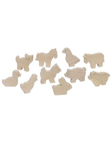 Goki® - Drewniane figurki z farmy