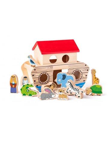 Woody - Arka Noego zabawka drewniana