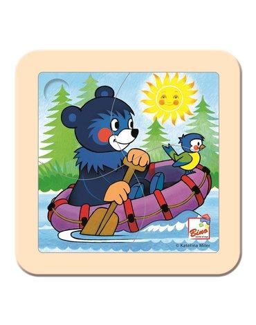 Bino - Puzzle dla malucha Baribal na pontonie