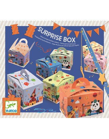 Djeco - Pudełka na niespodziankę (6szt) DJ02092
