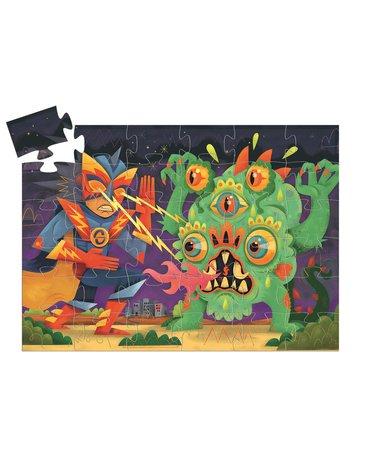 Djeco - Puzzle LASEROWY CHŁOPIEC 36el.DJ07228