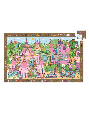 Djeco - Puzzle obserwacja KSIĘŻNICZKA  - 54 el.DJ07556