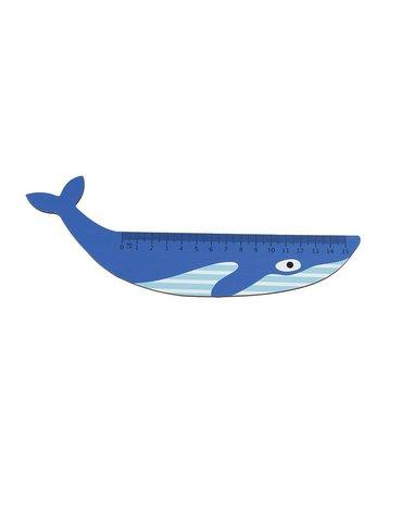 Drewniana linijka, Płetwal błękitny, Rex London