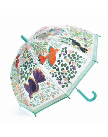 Djeco - Parasol przeciwdeszczowy PTAKI I KWIATY