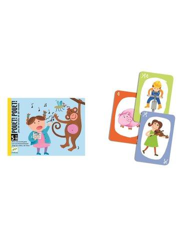 Djeco - Gra w kalambury z kartami, Pouet! Pouet! DJ05152