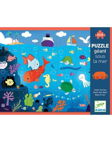 Djeco - Puzzle kartonowe gigant W MORZU DJ07116