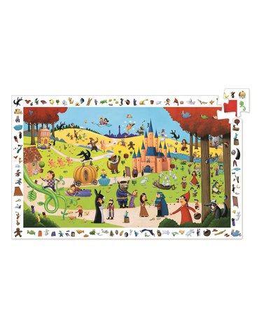 Djeco - Puzzle obserwacja OPOWIEŚCI - 54 el.DJ07561