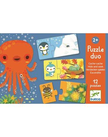 Djeco - Puzzle duo ZABAWA W CHOWANEGO DJ08156