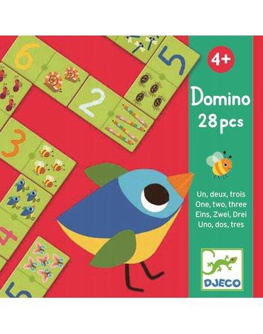 Djeco - Gra tekturowe Domino z liczbami DJ08168