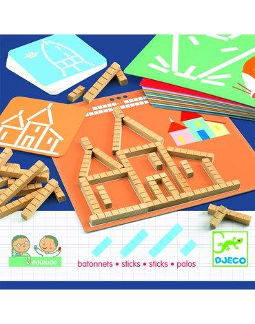 Djeco - Eduludo PATYCZKI DJ08356