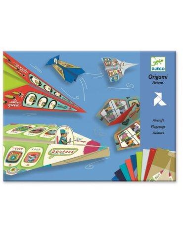 Djeco - Origami zestaw Samolot DJ08760