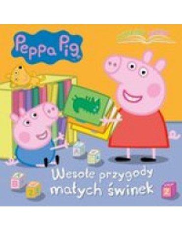 Media Service Zawada - Peppa Pig Czytajmy razem Cz.1 Wesołe przygody małych świnek