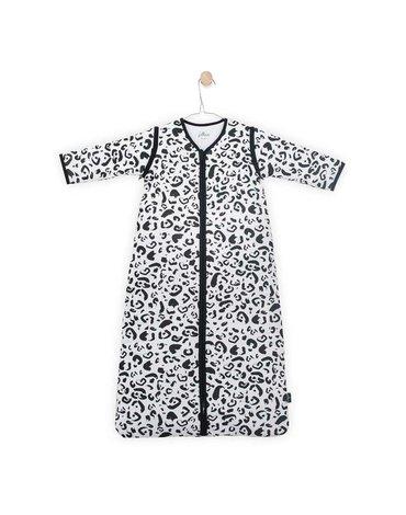 Jollein - Baby & Kids - Jollein - Śpiworek niemowlęcy całoroczny 4 pory roku z odpinanymi rękawami Leopard 90 cm
