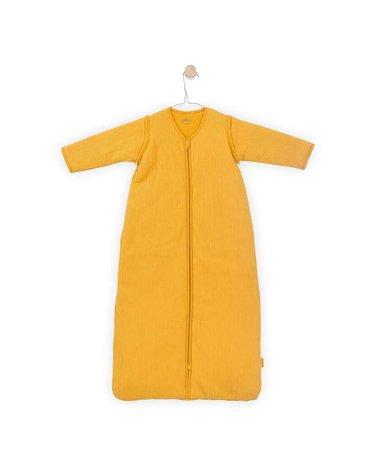 Jollein - Baby & Kids - Jollein - Śpiworek niemowlęcy całoroczny 4 pory roku z odpinanymi rękawami Rib Ocher 70 cm