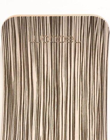 Deska do balansowania Original Zebra, bez filcu, Wobbel