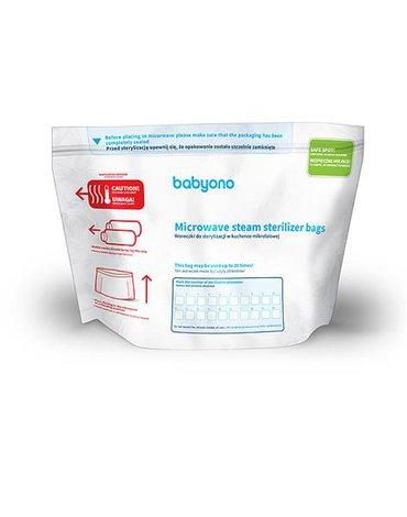 BABYONO - 1038 Woreczki do sterylizacji w kuchence mikrofalowej