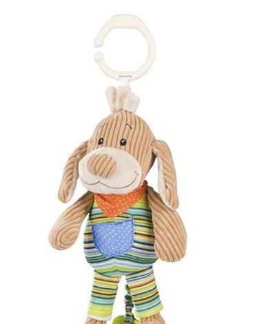 BABYONO - 1124 Zabawka dla dzieci z pozytywką PIESEK SPARKY