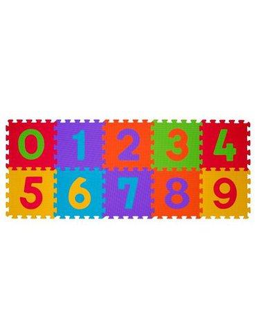 BABYONO - 274/01 Puzzle piankowe 10szt cyfry