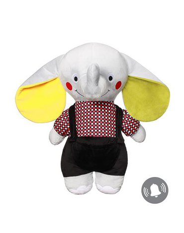 BABYONO - 648 Przytulanka dla niemowląt ELEPHANT ANDY SENIOR C-MORE COLLECTION