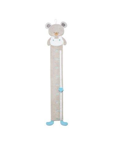 BABYONO - 1230 Pluszowa miarka wzrostu dla dzieci BEAR TONY