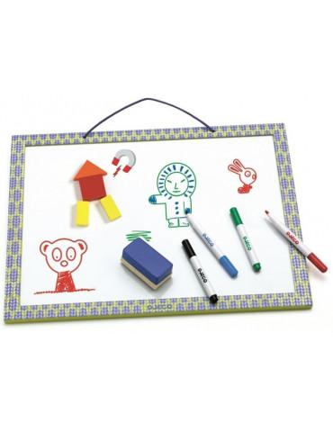 Djeco - Magnetyczna tablica z możliwością rysow. DJ03140
