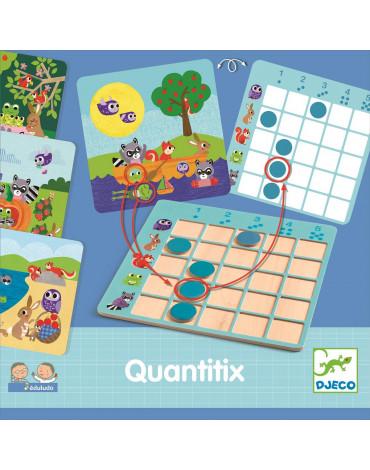 Djeco - EDULUDO Quantitix - nauka liczenia DJ08358