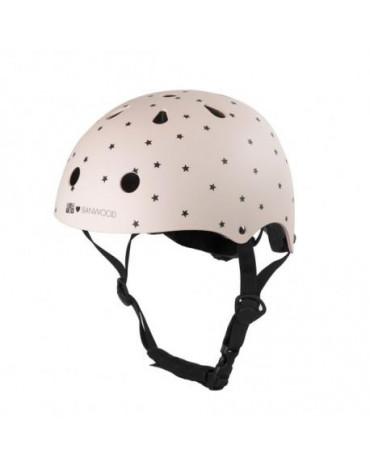 Banwood dziecięcy kask rowerowy bonton pink