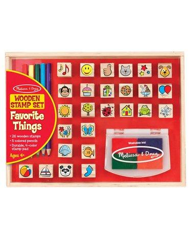Melissa&Doug® - Stempelki Ulubione wzory - znaczki 26 sztuk