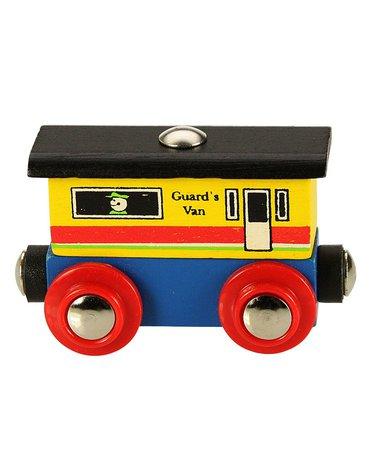 BigjigsRail - Wagonik końcowy do pociągu z literek i cyferek