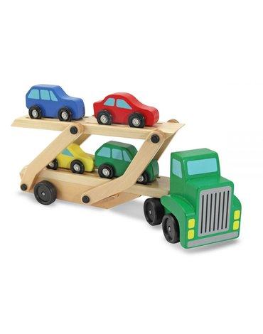 Melissa&Doug® - Ciężarówka z lawetą