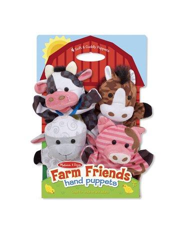 Melissa&Doug® - Pacynki na rękę Farma komplet 4 szt.