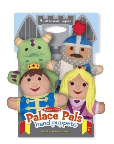 Melissa&Doug® - Pacynki na rękę Królewskie komplet 4 szt.