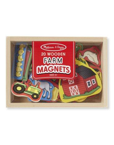 Melissa&Doug® - Magnesy na lodówkę Farma 20szt.