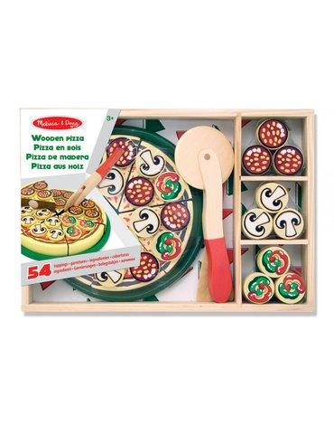 Melissa&Doug® - Drewniana pizza do krojenia i układania