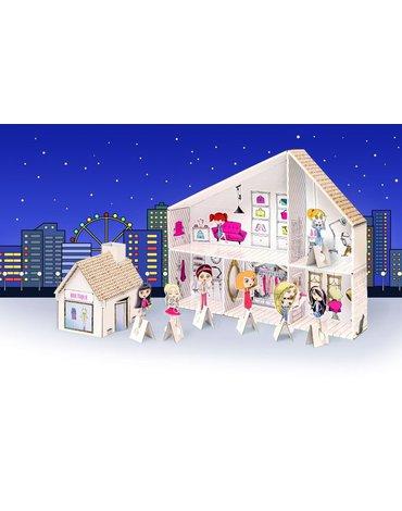 Tektorado - Zabawka z kartonu - Salon piękności