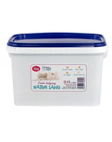 AdamToys - Piasek kinetyczny 5  kg NaturSand - polski piasek