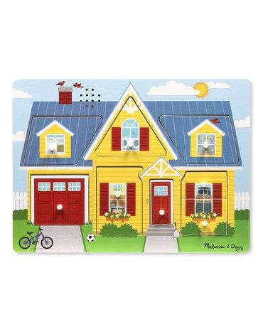 Melissa&Doug® - Puzzle dźwiękowe - Dookoła  domu