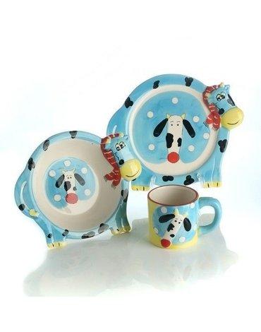 Nefere - Zestaw obiadowy ceramiczny Krówka