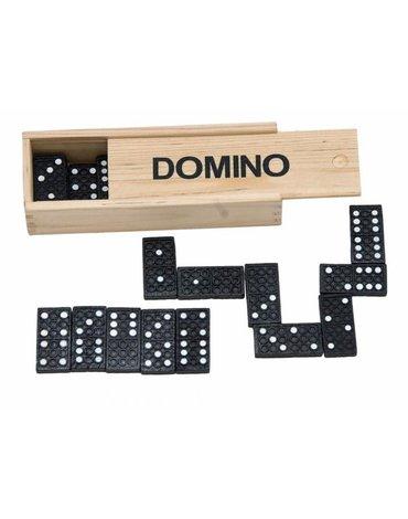 Woody - Domino klasyczne w drewnianym pudełku