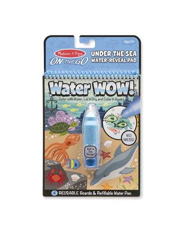 Melissa&Doug® - Malowanka kolorowanka wodna - Podwodny Świat -WaterWow