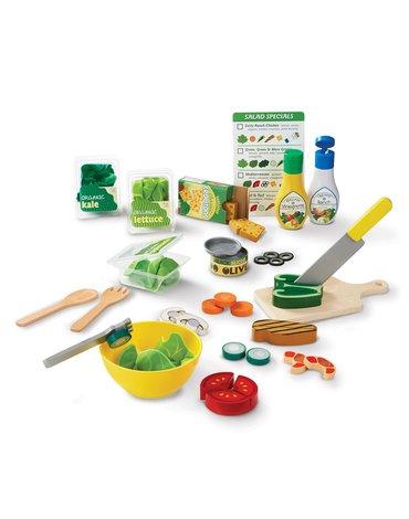 Melissa&Doug® - Zestaw sałatkowy - zabawka sałatka Małego Kucharza