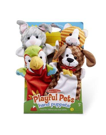 Melissa&Doug® - Pacynki na rękę Zwierzęta domowe - 4 szt.