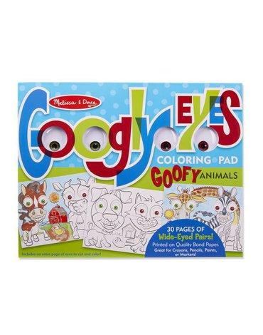 Melissa&Doug® - Kolorowanka z oczami zwierzęta