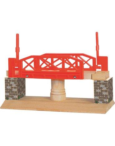 Woody - Most rotacyjny do rozbudowy kolejki drewnianej