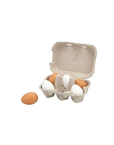 Viga - Jajka drewniane w wytłoczce