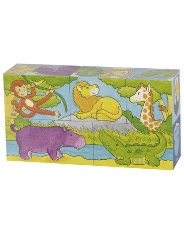 Goki® - Magiczne kostki ze zwierzętami